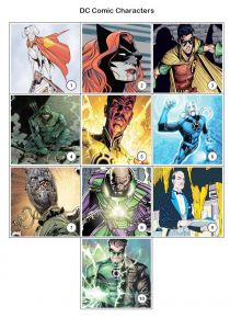 DC Comics Superheroes Quiz Pack 1