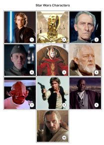 Star Wars Quiz Pack 1