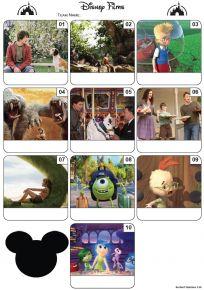 Disney Films Mini Picture Quiz - Z3027