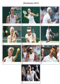 Wimbledon 2019 Picture Quiz - Z3065