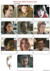 Stranger Things Characters Mini Picture Quiz - Z3072