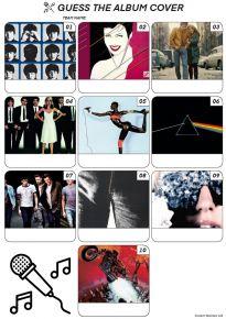 Album Covers - Mini PIcture Quiz Z3090