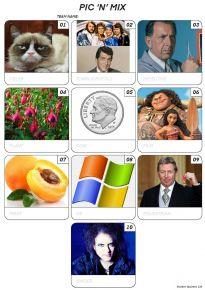 Pic 'n' Mix Mini Picture Quiz - Z3093
