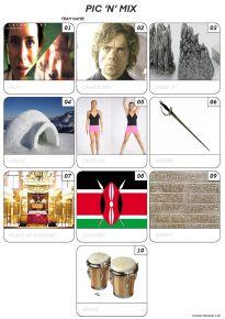 Pic 'n' Mix Mini Picture Quiz - Z3094
