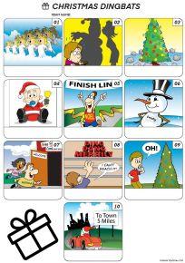 Christmas Dingbats - Z3098