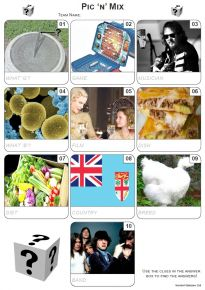Pic 'n' Mix Mini Picture Quiz - Z3106