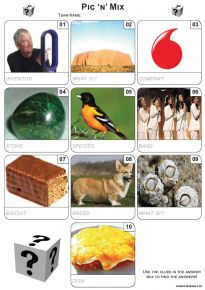 Pic 'n' Mix Mini Picture Quiz - Z3108