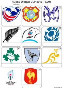 Rugby World Cup 2019 Picture Quiz - Z3125