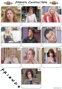 Friends Characters Mini Picture Quiz - Z3128