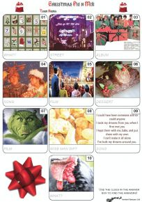 Christmas Quiz Pack 25 - Easier Quiz Questions