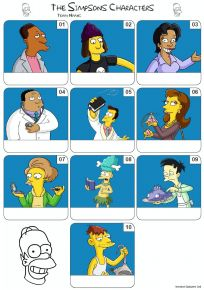 The Simpsons Mini Picture Quiz - Z3185