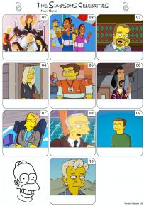 The Simpsons Guest Stars Mini Picture Quiz - Z3190