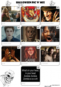 Halloween Quiz Pack 11 - QPHALL11