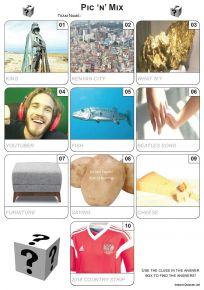 Pic 'n' Mix Mini Picture Quiz - Z3204