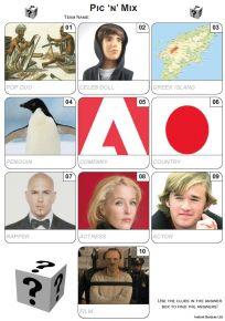 Pic 'n' Mix Mini Picture Quiz - Z3205