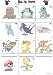 Pokemon Mini Picture Quiz - Z3260