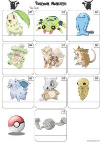Pokemon Mini Picture Quiz - Z3266