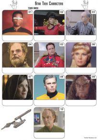 Star Trek Mini Picture Quiz - Z3267