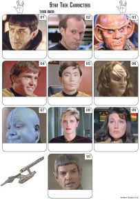 Star Trek Mini Picture Quiz - Z3269