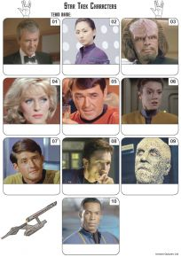 Star Trek Mini Picture Quiz - Z3270