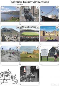 Scottish Tourist Attractions Mini Picture Quiz - Z3302