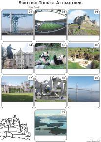 Scottish Tourist Attractions Mini Picture Quiz - Z3303
