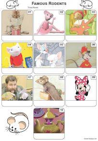 Famous Rodents - Z3313