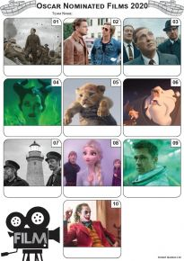 Academy Award Nominated Films 2020 Mini Picture Quiz - Z3322