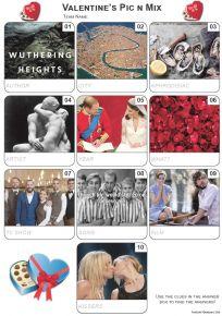 Valentine Pic 'n' Mix Mini Picture Quiz - Z3346