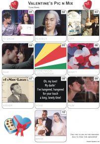 Valentine Pic 'n' Mix Mini Picture Quiz - Z3348