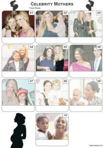 Celebrity Mothers Mini Picture Quiz - Z3364