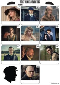 Peaky Blinders Mini Picture Quiz - Z3381