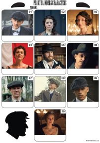 Peaky Blinders Mini Picture Quiz - Z3383