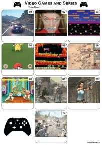 Video Games Mini Picture Quiz - Z3388