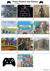 Video Games Mini Picture Quiz - Z3389