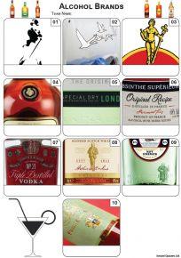 Alcohol Mini Picture Quiz - Z3395