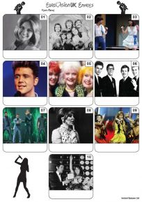 UK Eurovision Song Contest Mini Picture Quiz - Z3412