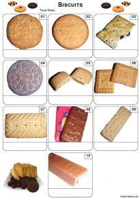 Biscuits Mini Picture Quiz - Z3430