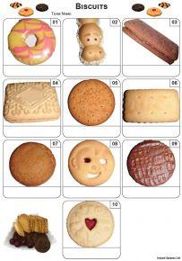 Biscuits Mini Picture Quiz - Z3431