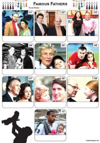 Famous Fathers Mini Picture Quiz - Z3433