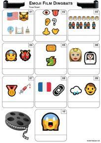 Emoji Films Mini Picture Quiz - Z3448
