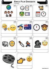 Emoji Films Mini Picture Quiz - Z3450