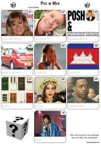 Pic 'n' Mix Mini Picture Quiz - Z3453