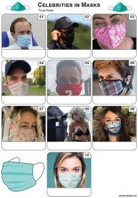 Celebrities In Masks Mini Picture Quiz - Z3456