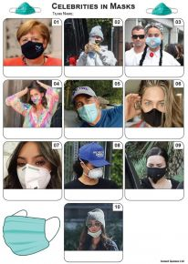 Celebrities In Masks Mini Picture Quiz - Z3457