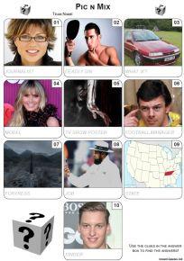 Pic 'n' Mix Mini Picture Quiz - Z3480