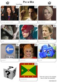 Pic 'n' Mix Mini Picture Quiz - Z3481