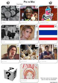 Pic 'n' Mix Mini Picture Quiz - Z3484