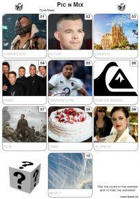 Pic 'n' Mix Mini Picture Quiz - Z3491