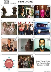 Films of 2020 - Mini Picture Quiz Z3539